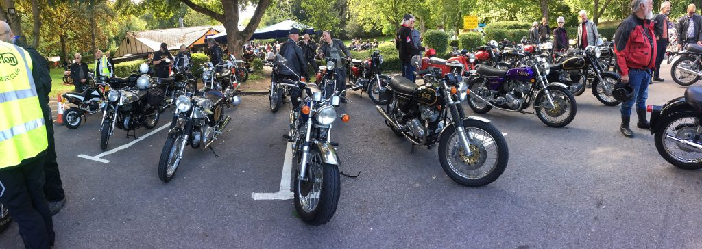 Surrey NOC line-up at Rykers cafe